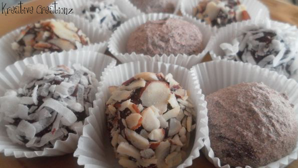 Grand Marnier Fudge Balls - The Kreative Life