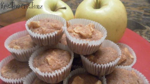 Apple Cinnamon Muffins - The Kreative Life
