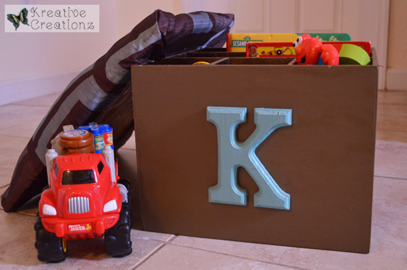 Shoe Storage into Seated Toy Box - The Kreative Life