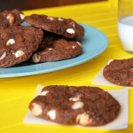 Double Chocolate Macadamia Nut Cookies - The Kreative Life