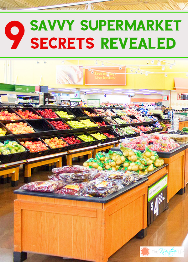 9 Savvy Supermarket Secrets revealed to add to your useful life hacks.