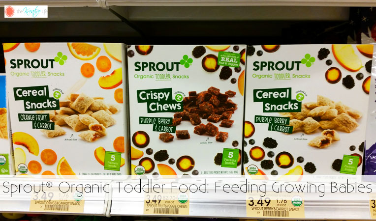 Sprout® Organic Toddler Food: Feeding Growing Babies