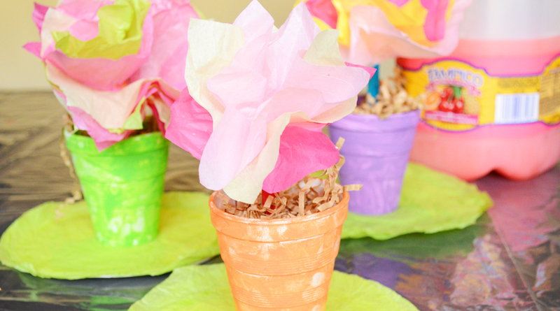 Springtime Flowers Craft