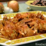 Slow Cooker Salsa Criolla Chicken