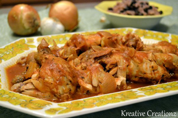 Slow Cooker Salsa Criolla Chicken