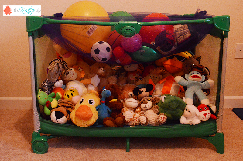DIY Toy Storage - The Kreative Life