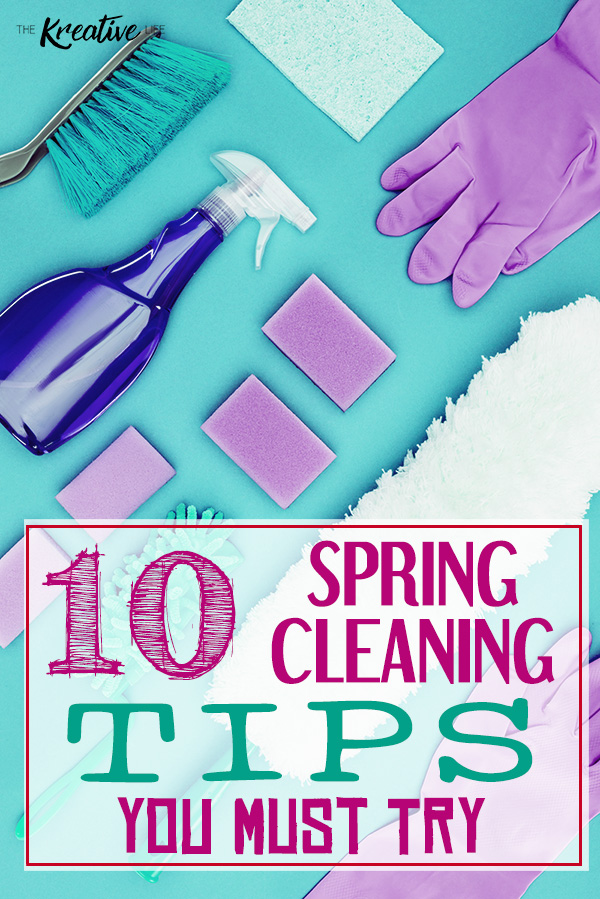 Spring cleaning tips and hacks make it easier for you to get your house in shape for the new season. These 10 tips will help you with your spring cleaning routine.