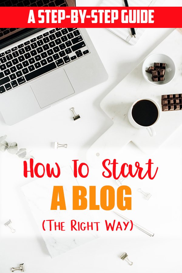 How To Start a Blog || This beginner's guide to blogging is a step by step guide that will show you how to get started blogging. You can also download the 18 Month FREE Blog Planner Printable with tracking sheets to help you get started. - The Kreative Life