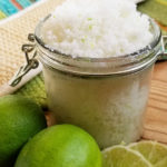 A margarita sugar scrub that will leave your skin feeling soft, smooth, and rejuvenated! This margarita body scrub recipe is easy to make and isn't at all stick, unlike other homemade margarita sugar scrub recipes you'll find. Enjoy your diy margarita scrub in the comfort of your own home. - The Kreative Life