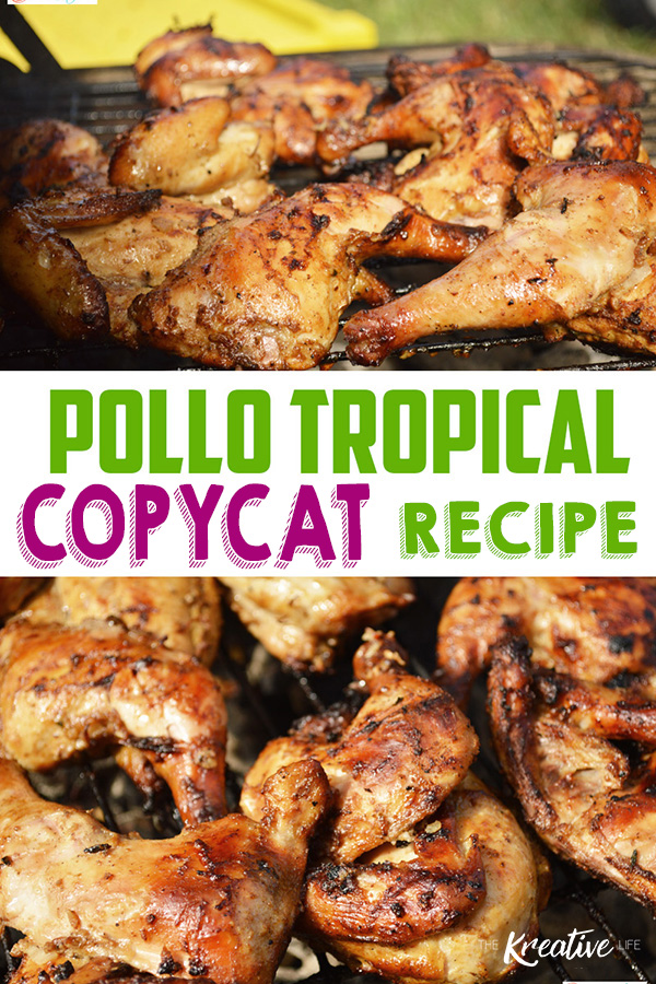 This Pollo Tropical Chicken Recipe is one of my favorite copycat recipes. The tropic pollo marinade is bursting with citrus and tropical flavors to satisfy hungry taste buds.
