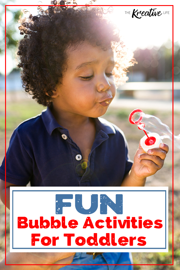 Fun Bubble Activities for Toddlers to Learn