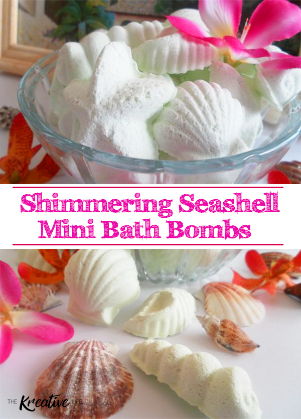 These diy mini bath bombs are perfect for your at-home spa day.